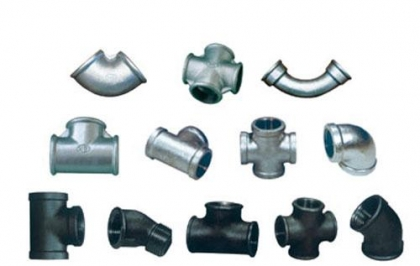 Galvanized pipe and fitting