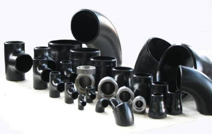 Steel pipe and fitting