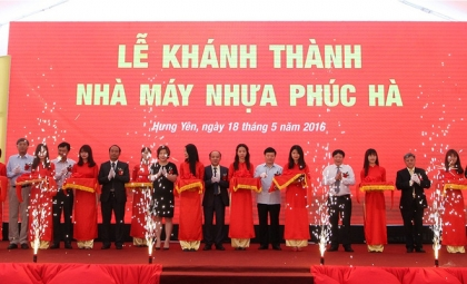 Inauguration ceremony of Phuc Ha Plastic Factory