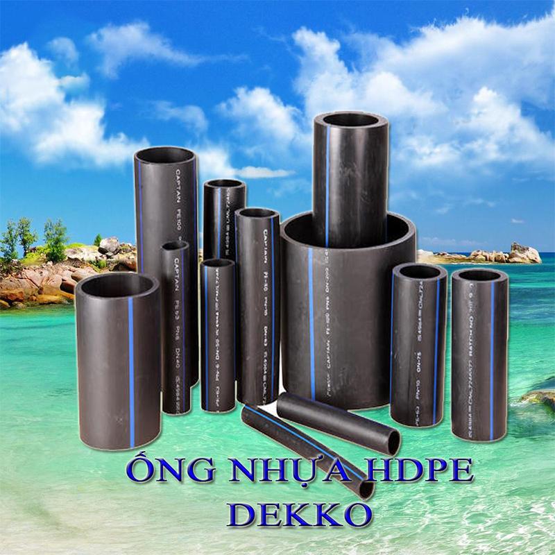 Sự khác biệt của ống nhựa HDPE mang thương hiệu DEKKO